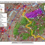 Impact of I-3 on Landscape Conservation Areas in Southern Appalchians along route originally proposed