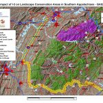 Impact of I-3 on Landscape Conservation Areas in Southern Appalachians - GA 52