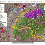 Impact of I-3 on Landscape Conservation Areas in Southern Appalachians - US 64 Alt 2