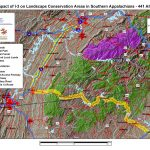 Impact of I-3 on Landscape Conservation Areas in Southern Appalachians - 441 Alt 3