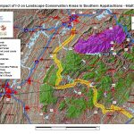 Impact of I-3 on Landscape Conservation Areas in Southern Appalachians - 64 Alt 3