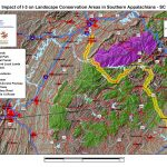 Impact of I-3 on Landscape Conservation Areas in Southern Appalchians - SC